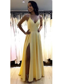 A-Line Simple Stunning Long Prom Dresses Evening Gowns 99501376