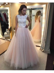 Lace and Tulle Sleeveless Wedding Dresses Bridal Gowns 99603067