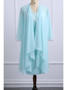 Short Chiffon Lace Mother of the Bride Dresses 99702085